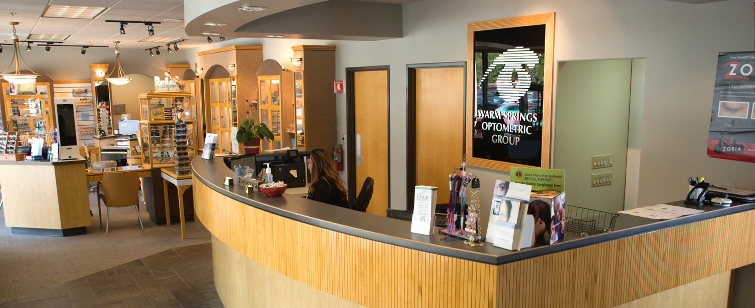 Warm Springs Optometric Group Lobby